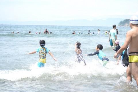親子海泳ぎ体験会@逗子 〜海と日本PROJECT〜