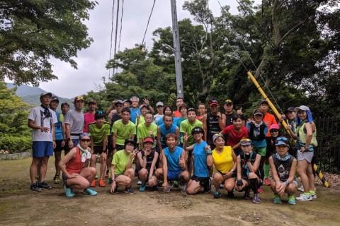 夏の暑さに勝つ2時間走 木陰で不整地とロードの2.7キロの周回コース