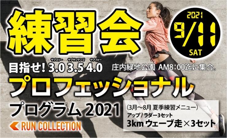 10/9(土)【プロフェッショナルプログラム2021トレーニング】
