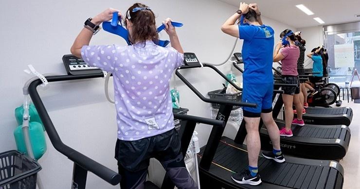 〔7/30〕低酸素トレーニングで走力アップ* 30分ウォークやゆっくりランでも効果的