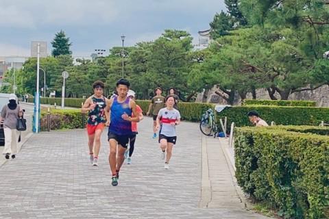 【石川・小松】沖コーチの夏のランニングクリニック@沖(鬼)とタイムアタック