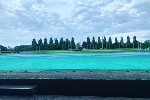 【7.31土曜】夕涼み・皇子山トラック練習!〜1km数本〜5km併走練習with 沖コーチ