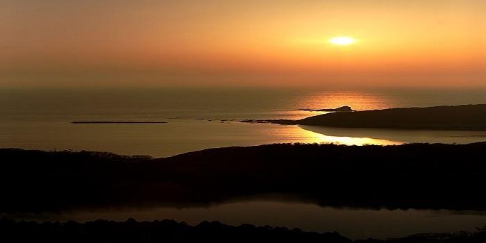 男鹿温泉郷を起点に男鹿の絶景夕陽堪能(八望台・入道崎)こでられないライド