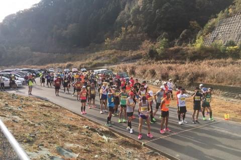 第1回福富ダムマラソン大会(東広島)