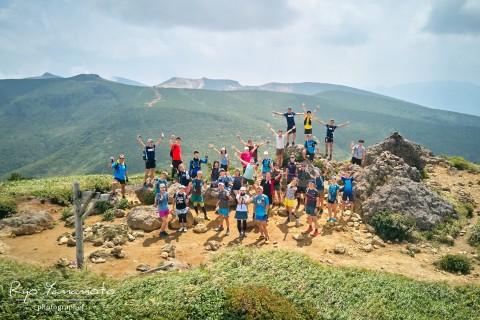 【ほんとの空が見たい】安達太良・磐梯山トレイルランツアー2DAYS