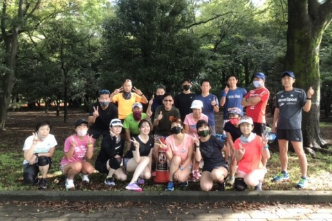 がんばれゆうすけハーフマラソンチャレンジ・1時間40分・1時間45分@代々木公園