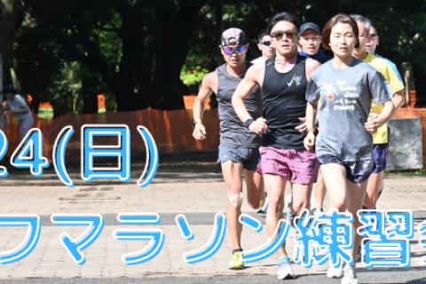 10/24(日)木下裕美子のハーフマラソン練習会