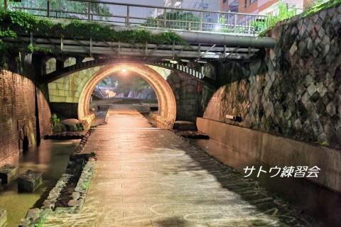 堀川のせせらぎと静寂。人に知られたくない秘密の練習コース。小川の流れる堀川遊歩道【サトウ練習会】