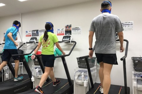 〔11/3〕低酸素(高地)トレーニングで走力アップ* 30分ウォークやゆっくりランでも効果的