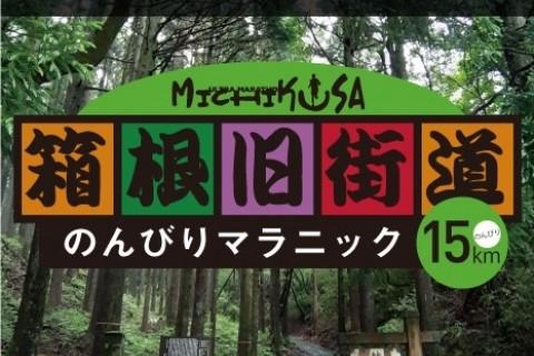 第1回みちくさ箱根旧街道のんびりマラニック