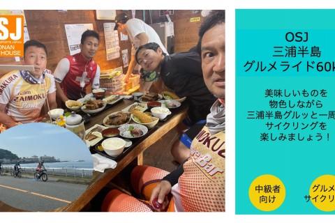 OSJ三浦半島グルメライド60km(ロードバイク)