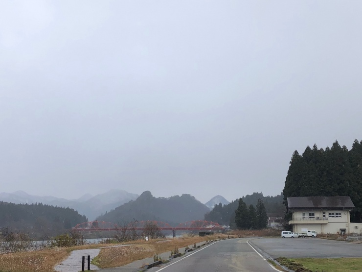 会場(津川漕艇場)