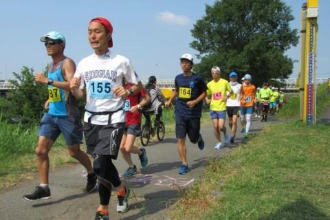 第87回月例チャレンジつるみ川20km・30km・40km