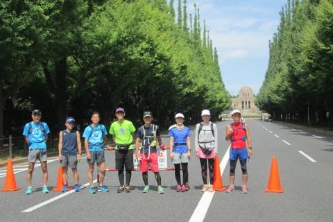 中野駅からお洒落エリアを巡る!代官山、恵比寿、広尾、神宮外苑、新宿を巡る21km&10km他