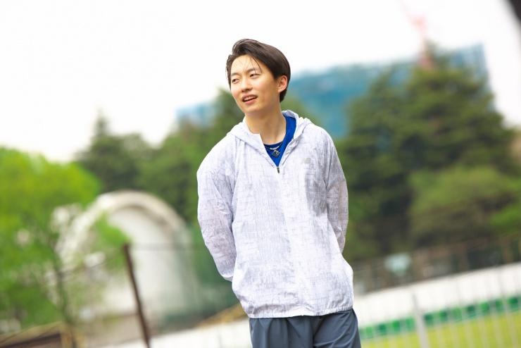 メインコーチ 田村健人 青山学院大学出身(2016年度生・陸上競技部選手)